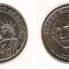 SUA USA 1 DOLAR DOLLAR 2007 COMEMORATIV, America de Nord