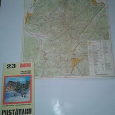 MUNTII NOSTRI - POSTAVARU, nr.23 + harta - Ghid de calatorie