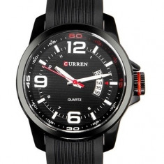 CEAS ORIGINAL CURREN M8174 Ceas military barbatesc - Ceas barbatesc Curren, Quartz