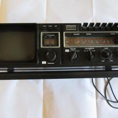 RARA! COMBINA VINTAGE RADIO/CASSRECORDER/TV GERMANIA ANII 80