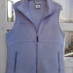 Vesta polar dama polar fleece, firma Columbia, L spre XL-masurati !!! - Vesta dama Columbia, Marime: L, Culoare: Albastru, Poliester