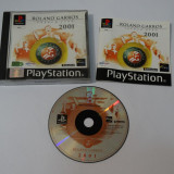 Joc consola Sony Playstation 1 PS1 PS One - Rolland Garos French Open 2001
