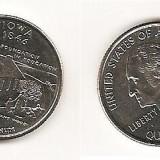 SUA USA 1/4 QUARTER DOLAR DOLLAR 2004 COMEMORATIV