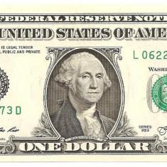 SUA USA 1 DOLAR DOLLAR 2013 UNC - bancnota america