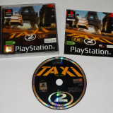 Joc consola Sony Playstation 1 PS1 PS One - TAXI 2, Actiune, Toate varstele, Single player