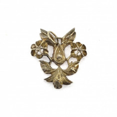 Pandantiv / medalion argint vechi, inspiratie Jugendstil, design retro, Germania