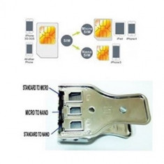 Aparat pentru decupat cartele-Cutter Micro / Nano Sim