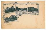 2760 - L i t h o, MARAMURES - old postcard - used - 1898, Circulata, Printata