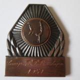 MEDALIE CAMP. R.P.R. ECHIPE 1957