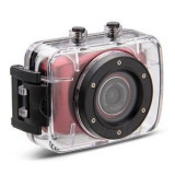 Camera Sport si Auto Camcorder HD cu Touchscreen & Waterproof Rosu
