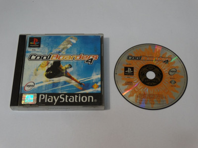 Joc consola Sony Playstation 1 PS1 PS One - Cool Boarders 4 foto