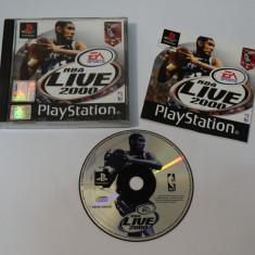 Joc consola Sony Playstation 1 PS1 PS One - NBA Live 2000, Single player, Sporturi, Toate varstele