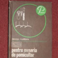 Ghid pentru meseria de pomicultor  - Grigore Mihaescu