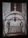 SEPT15-Vedere/Carte postala-Manastirea Putna-Mormatul lui Stefan cel Mare, Necirculata, Printata