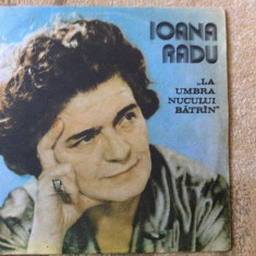 ioana radu la umbra nucului batran disc vinyl lp muzica populara romaneasca