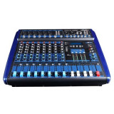 MIXER AMPLIFICAT 8 CANALE, 800 WATT PUTERE,MP3 PLAYER,AFISAJ,EFECTE VOCE DSP.