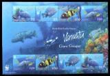 VANUATU - FAUNA MARINA WWF 1 M/SH, NEOBLITERATA - E3584
