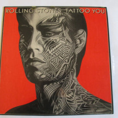 VINIL L.P. THE ROLLING STONES ALBUMUL TATTOO YOU 1981 - Muzica Rock Altele