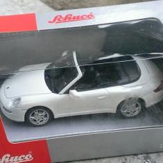 Macheta metal 1/43 - Porsche 911 Cabrio - Schuco Junior - Noua in cutie - Macheta auto
