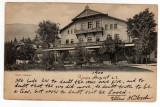 SINAIA HOTEL SINAIA JOSEPH UNGARTH CIRCULAT LOCO 1900, Necirculata, Fotografie