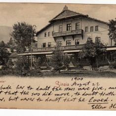 SINAIA HOTEL SINAIA JOSEPH UNGARTH CIRCULAT LOCO 1900