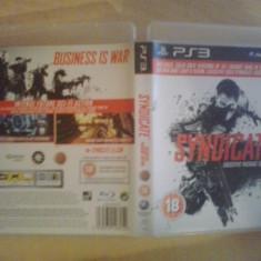 Syndicate - Joc PS 3 ( GameLand ) - Jocuri PS3, Shooting, 18+, Single player