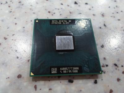 procesor laptop Intel celeron T3000 dual core 1.80/1M/800 socket P foto