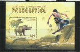 F 50   FAUNA DIN PALEOLITIC   -  CUBA  -    COLITA   NESTAMPILATA, Nestampilat