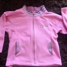 Bluza cu fermoar, fetite, 5-7 ani, de joaca, polar. COMANDA MINIMA 30 LEI!, Culoare: Roz, Fete
