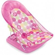 Scaun de baie bebe, Summer Infant Deluxe roz