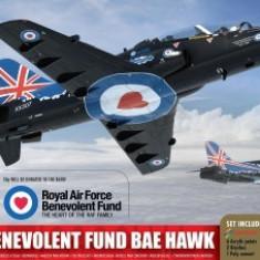 Kit constructie si pictura avion RAF Benevolent Fund BAE Hawk