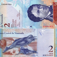 VENEZUELA 2 bolivares 2012 UNC!!!