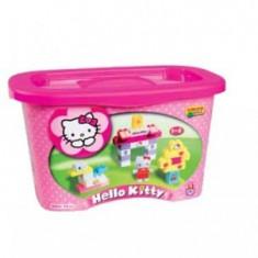 Set constructie Unico Plus Hello Kitty Galetusa 73 piese - Jocuri Seturi constructie