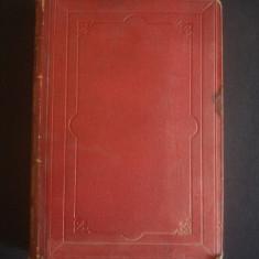 OEUVRES COMPLETES DE SHAKESPEARE {1867, dimensiune 28 x 20 cm, margini aurite} - Carte de lux