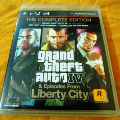 Joc GTA IV Complete Edition(GTA IV+Episodes), PS3, alte sute de jocuri! - Jocuri PS3 Rockstar Games, Actiune, 18+, Single player