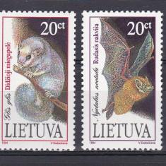 Lituania 1994 fauna MI 506-507 MNH w17 - Timbre straine, Nestampilat