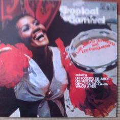 Luis Alberto Del Parana And Los Paraguayos Tropical Carnival disc vinyl latino - Muzica Latino, VINIL