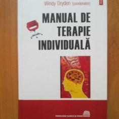 W1 Windy Dryden-Manual de terapie individuala (cartonata, noua, polirom, 868 pag) - Carte Psihologie