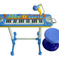 ORGA ELECTRONICA MULTIFUNCTIONALA CU SCAUNEL INCLUS SI SUPORT PARTITURA.PROMOTIE - Instrumente muzicale copii
