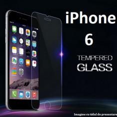 FOLIE de STICLA Apple iPhone 6 / 6S 0.33mm, 2.5D tempered glass antisoc - Folie de protectie Apple, Anti zgariere