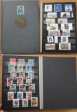 376 - Clasor A5 cu timbre straine amestecate stampilate - pozat complet