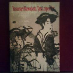 Yasunari Kawabata Tara Zapezii - Roman, Anul publicarii: 1974
