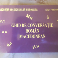 Ghid de conversatie Altele ROMAN - MACEDONEAN (MAKEDONI )