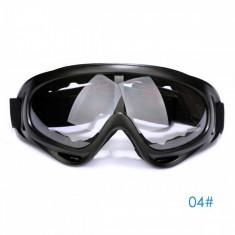 Ochelari unisex ski, snowboard si multe alte sporturi, lentila transparenta - Ochelari ski