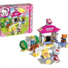 Set constructie Unico Plus Hello Kitty Ferma - Jocuri Seturi constructie