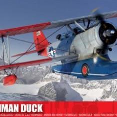 Kit constructie si pictura avion J2F Grumman Duck - Set de constructie Airfix