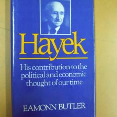 Hayek contributia sa la gandirea politica si economica a timpului nostru 1983