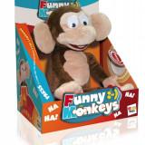 Jucarie de plus crazy monkey, IMC Toys