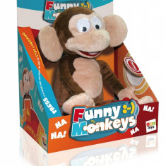 Jucarie de plus crazy monkey, IMC Toys - Jucarii plus