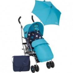 Carucior pentru copii cu accesorii albastru, Mamas and Papas